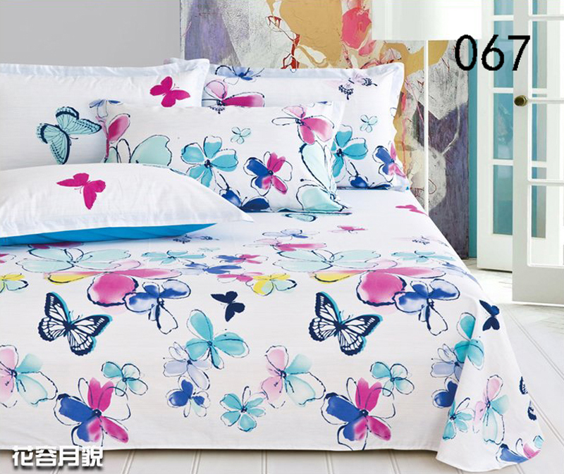 Butterfly Twin Bed Sheets