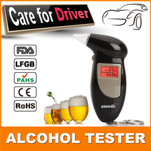 Send 5 mouthpiece Free Shipping, Key Chain Alcohol Tester, Digital Breathalyzer, Alcohol Breath Analyze Tester (0.19% BAC Max)(China (Mainland))