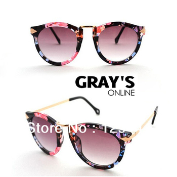 FREE SHIPPING 2013 New Arrival Aviator Sunglasses 5 Colors Men Women Vintage Unisex Fashion Sunglasses  High Quality Cheap Price