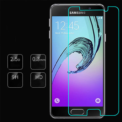 Tempered Glass Film For Samsung Galaxy A3 A5 A7 (2016 TYPE )Screen Protector Safety Protective Film A310F A510F A710F A7100 Lte(China (Mainland))