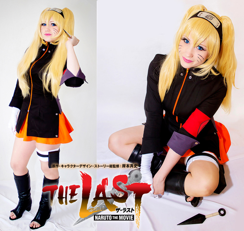 Free Shipping Naruto The Movie The Last-Uzumaki Naruto Female Anime Cosplay CostumeОдежда и ак�е��уары<br><br><br>Aliexpress