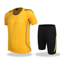High Quality breathable sports suit set polyester  training jersey tracksuit plus size basketball clothing set for man