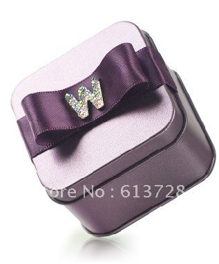 graceful candy tin box,gift box ,#CB067 ,wedding favors, assembled delivery, free shipping(China (Mainland))