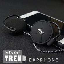 ShiniQ940 Free Shipping Headphones 3.5mm Headset EarHook Earphone For Mp3 Player Computer Mobile Telephone Earphone