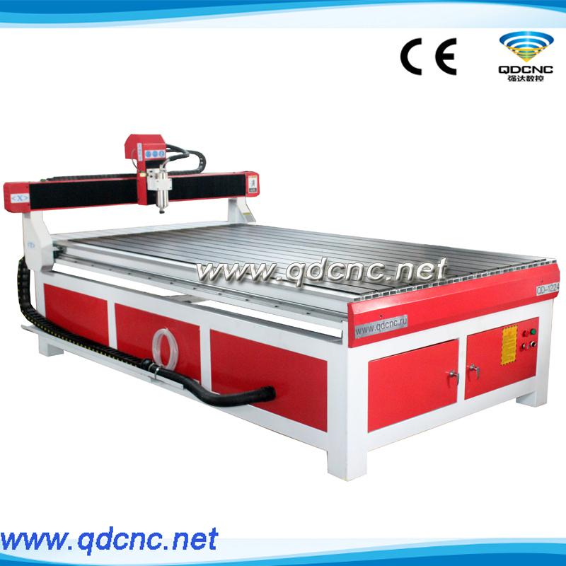 QD-1224 High Precison Desktop Cnc Router 1224, Small Size 3D Machine 1224(1200*2400*150mm) - Jinan Qiang Da CNC Equipment Co., Ltd. store