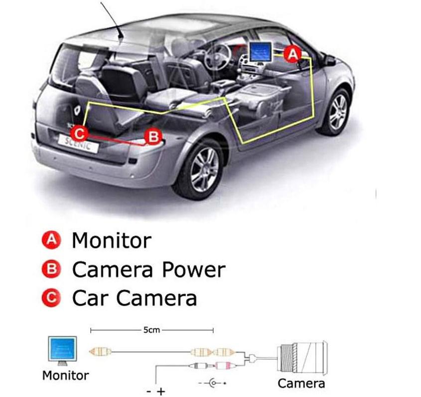 Купить CCD вид сзади автомобиля парковка резервная камера камера заднего вида с автомобиля монитор зеркало для TFT LCD TOYOTA LAND CRUISER PRADO 2700 4000