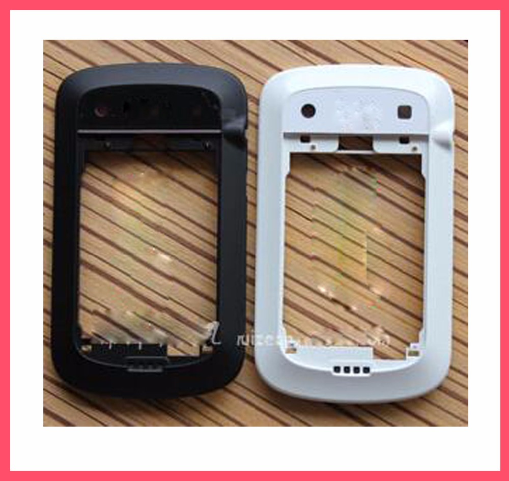 New Original black/white color Middle Frame Housing With Flex For BB BlackBerry Bold 9900(China (Mainland))