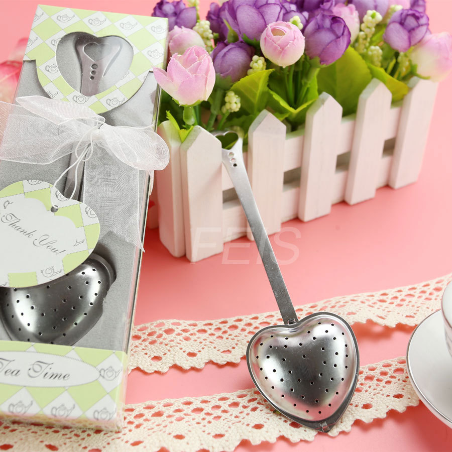 FEIS Wholesale Heart Shaped Tea Infuser Spoon Strainer Stainless ...