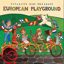 New Putumayo Kids Presents European Playground CD [free shipping](China (Mainland))