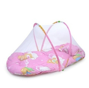 Cute Instant Pop Up Mosquito Net Crib Baby Tent Beach Play Tent Bed Playpen(China (Mainland))