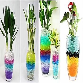 Новая вода аква кристаллическая почва свадебное гель мяч бусины ваза центральным