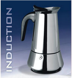 Moka Pot – Various Sizes: 100ml 150ml 300ml 450ml 600ml(2/3/6/9/12 CUPS)