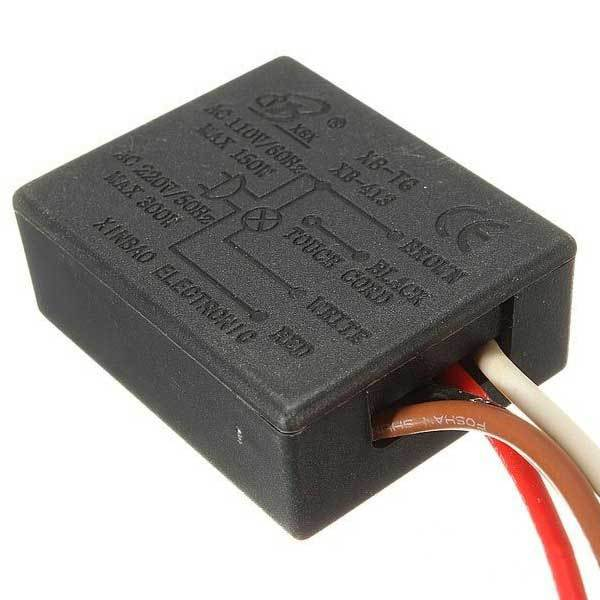 Bearlake AC 110V 3 Way Touch Control Sensor Switch Dimmer Lamp Desk Light Parts(China (Mainland))
