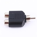Audio Video Cables 2 in 1 RCA Male to 2 RCA Female Y Splitter Audio Adapter