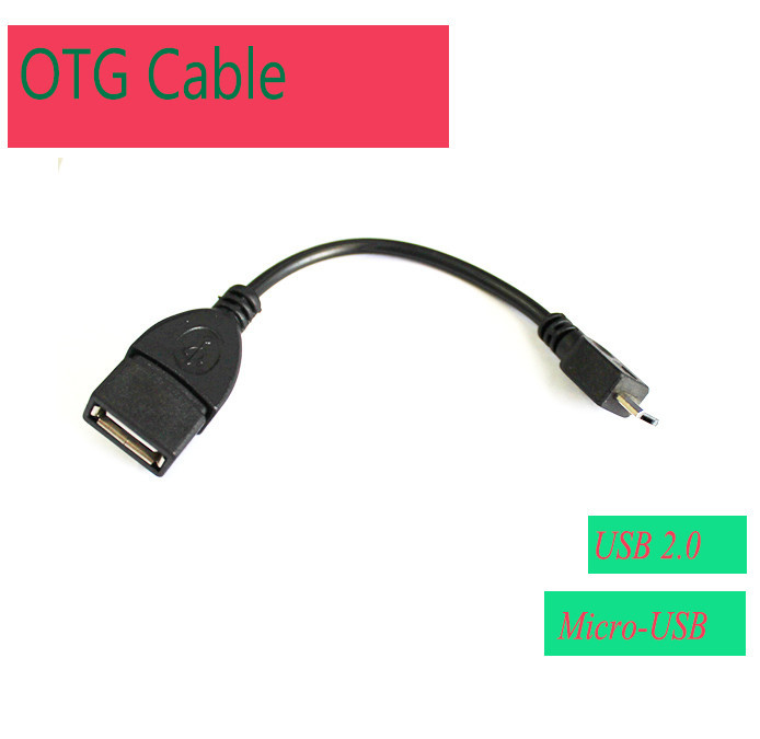 HOT Micro USB OTG Cable Adapter For Samsung XIAOMI HTC LG Sony Android Tablet PC MP3/MP4 smart Phone(China (Mainland))