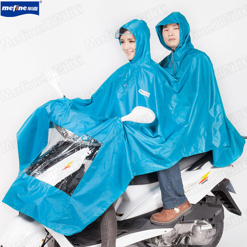 Мотоцикл электрическая автомобили велосипед ветрозащитный полиэстер на открытом воздухе взрослые плащ лёгкие унисекс двойной head шитьё пончо