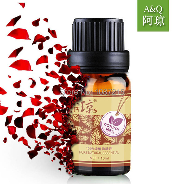 AQIONG Bulgarian rose essential oil 10ml face skin care Whitening remove yellow moisturizing massage oil(China (Mainland))