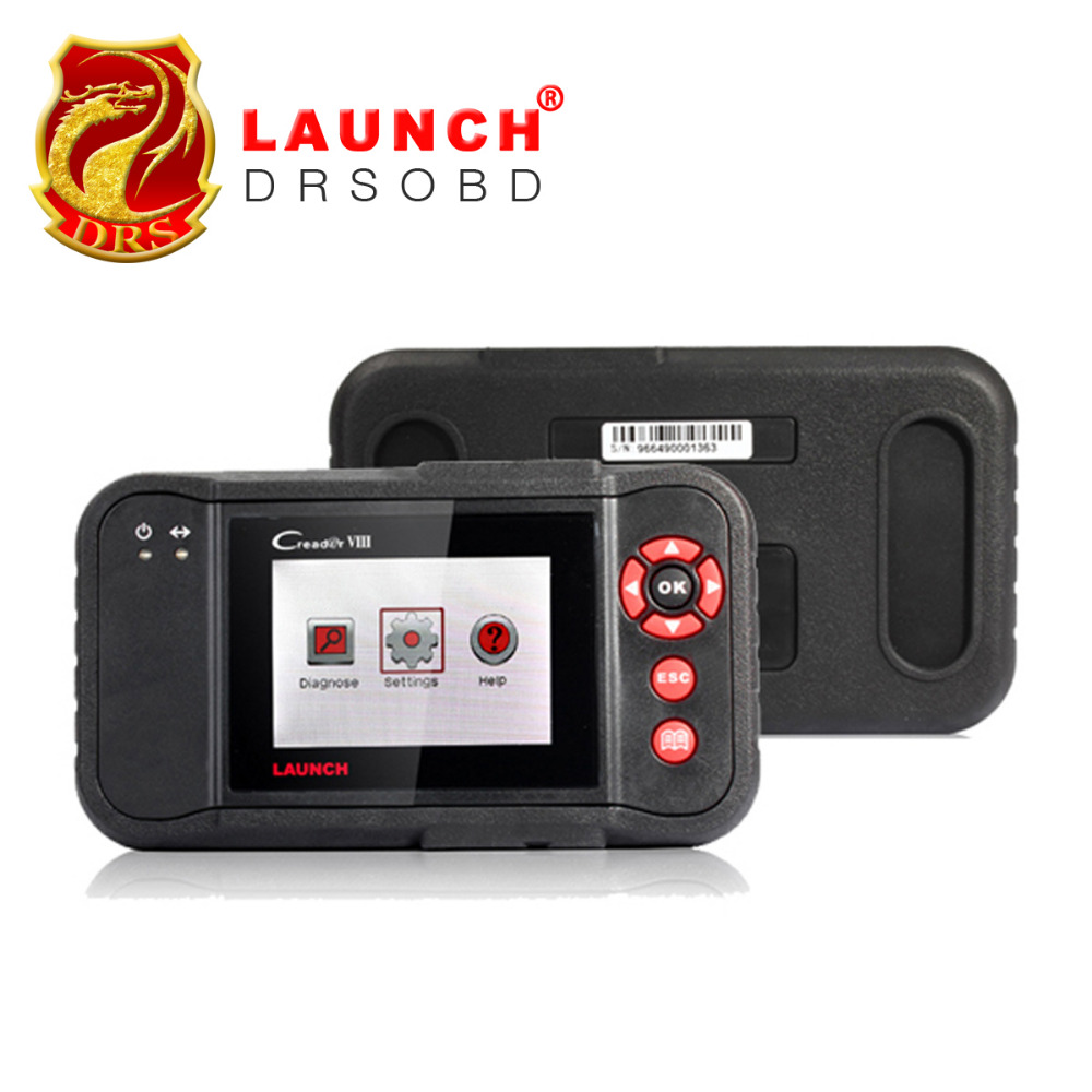 [Launch Distributor] Launch X431 Creader VIII Creader 8 Pro Universal Car Diagnostic Code Reader Support 4 System Update Online(China (Mainland))