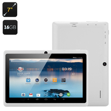 100pcs Clearance Android 4.4 Tablet 8GB/16GB ROM 7'' Tablet PC Allwinner A23 Dual Core Q88 Wifi Tablet(China (Mainland))