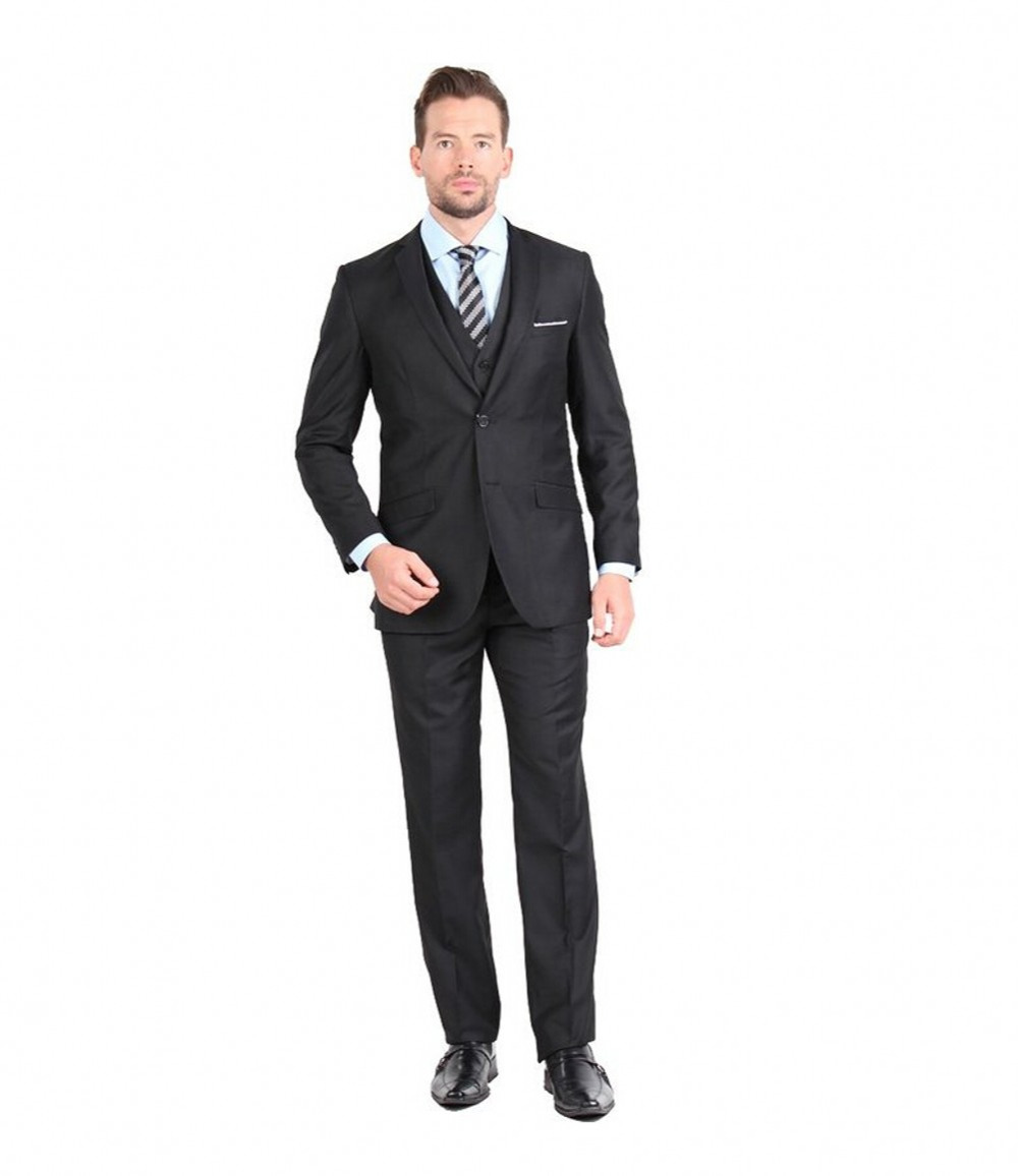 Hot sale 2016 man business casual suit three pieces set for Mens business shirts sale