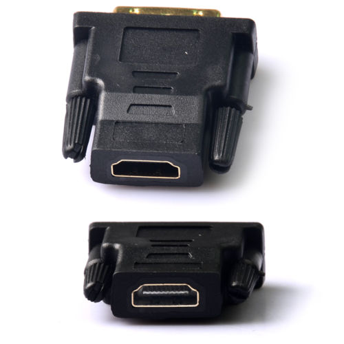 Connector Adapter HDTV PC LCD Monitor HDMI Female To DVI D Male M-F Converter(China (Mainland))