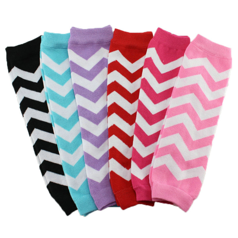 1 pair New 2015 Cotton Christmas striped Chevron Leg Warmers baby boy's girl's leg warmers baby accessories(China (Mainland))