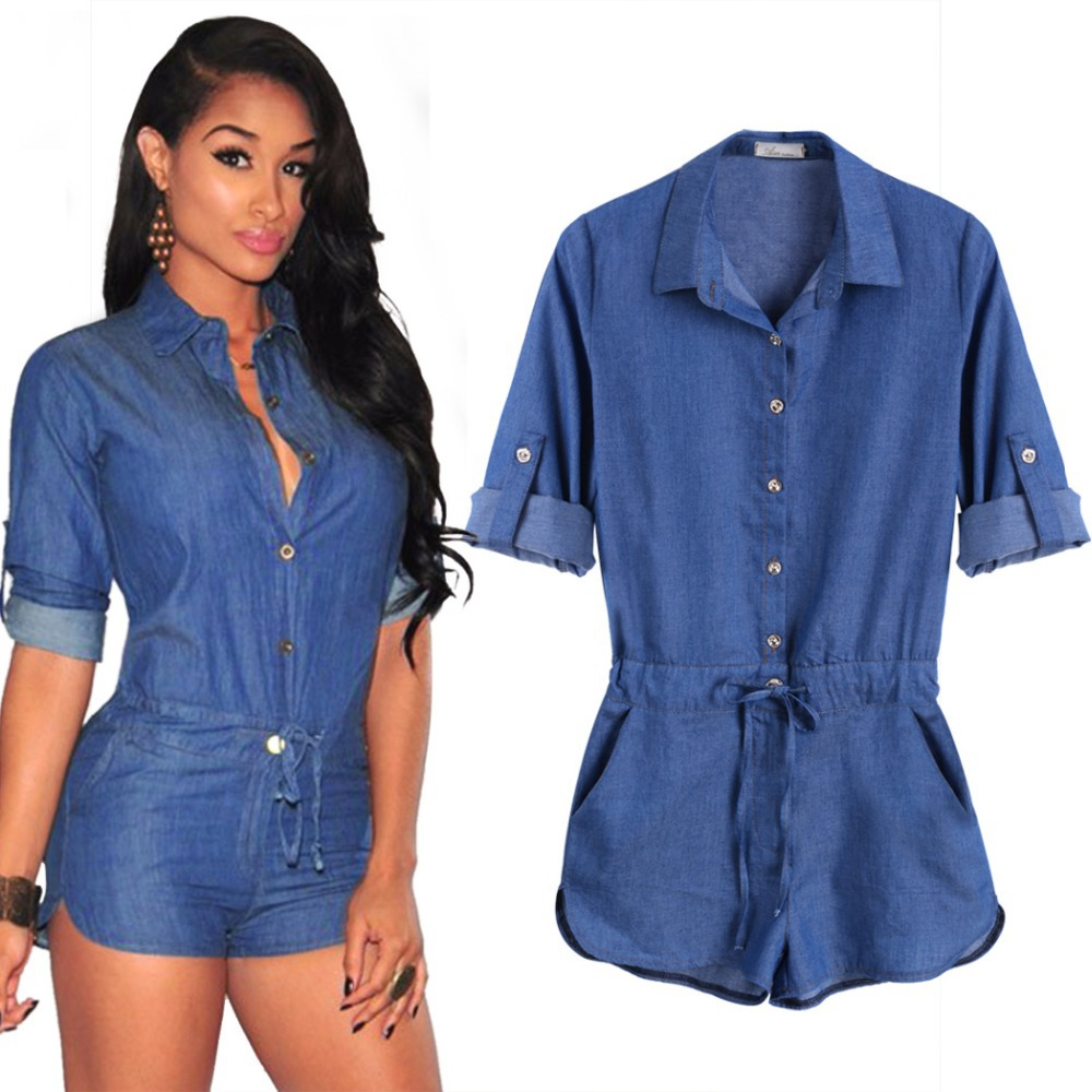 Fantastic Womens AampF Denim Jumpsuit  Womens Dresses Amp Rompers  Abercrombiecom