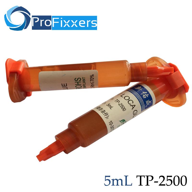 free shipping 10pcs/lot 5ml tp-2500 UV Glue LOCA Liquid Optical Clear adhesive for iPhone Samsung glass lens RepairWholesale(China (Mainland))