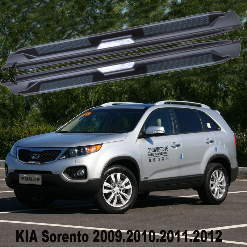 2011 Kia Sorento Accessories: Sorento Car Running Boards Auto Side Step Bar Pedals For