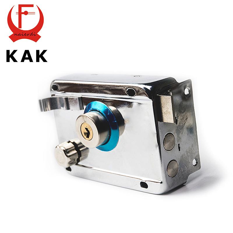 KAK-9331 Exterior Door Locks Security Anti-theft Lock Multiple Insurance Lock Wood Gate Door Lock For Furniture Hardware(China (Mainland))