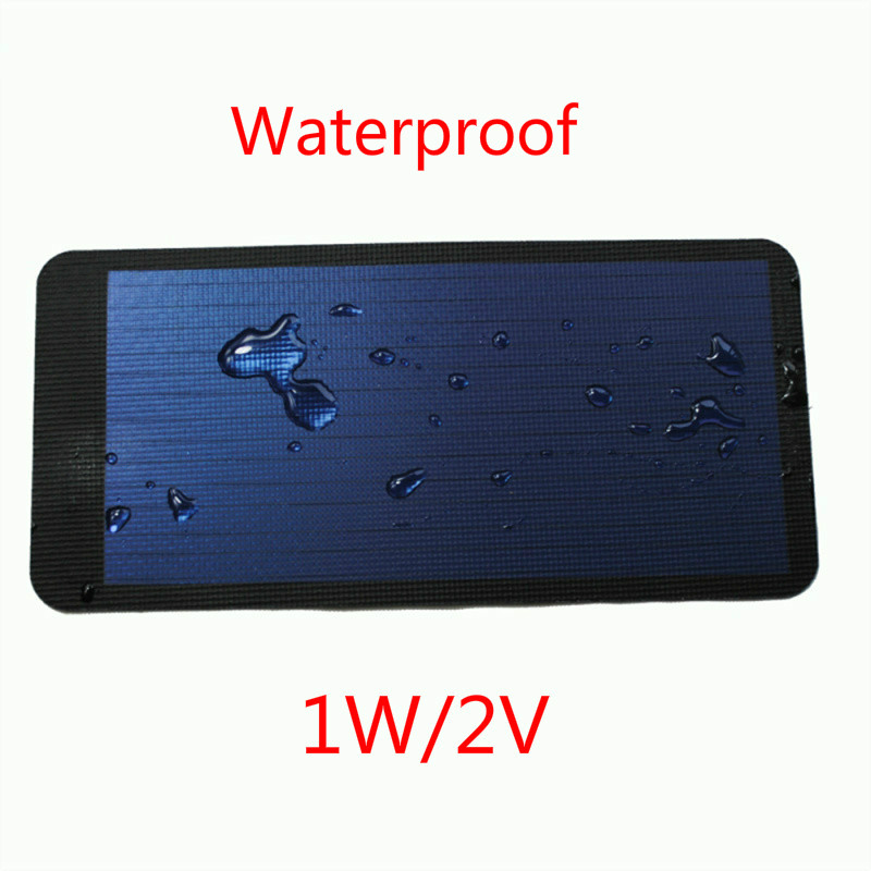 1W 2V Flexible thin film solar panels solar panels charge the phone solar panel solar modules(China (Mainland))
