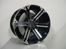 brand new 14x6 14x8 aluminum alloy rim  for buggies ,quad ,atvs ,go karts, off road vehicles(China (Mainland))