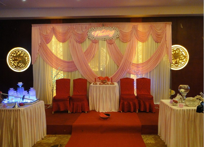 elegant wedding backdrops for wedding decoration accessories free shipping 3x6(China (Mainland))