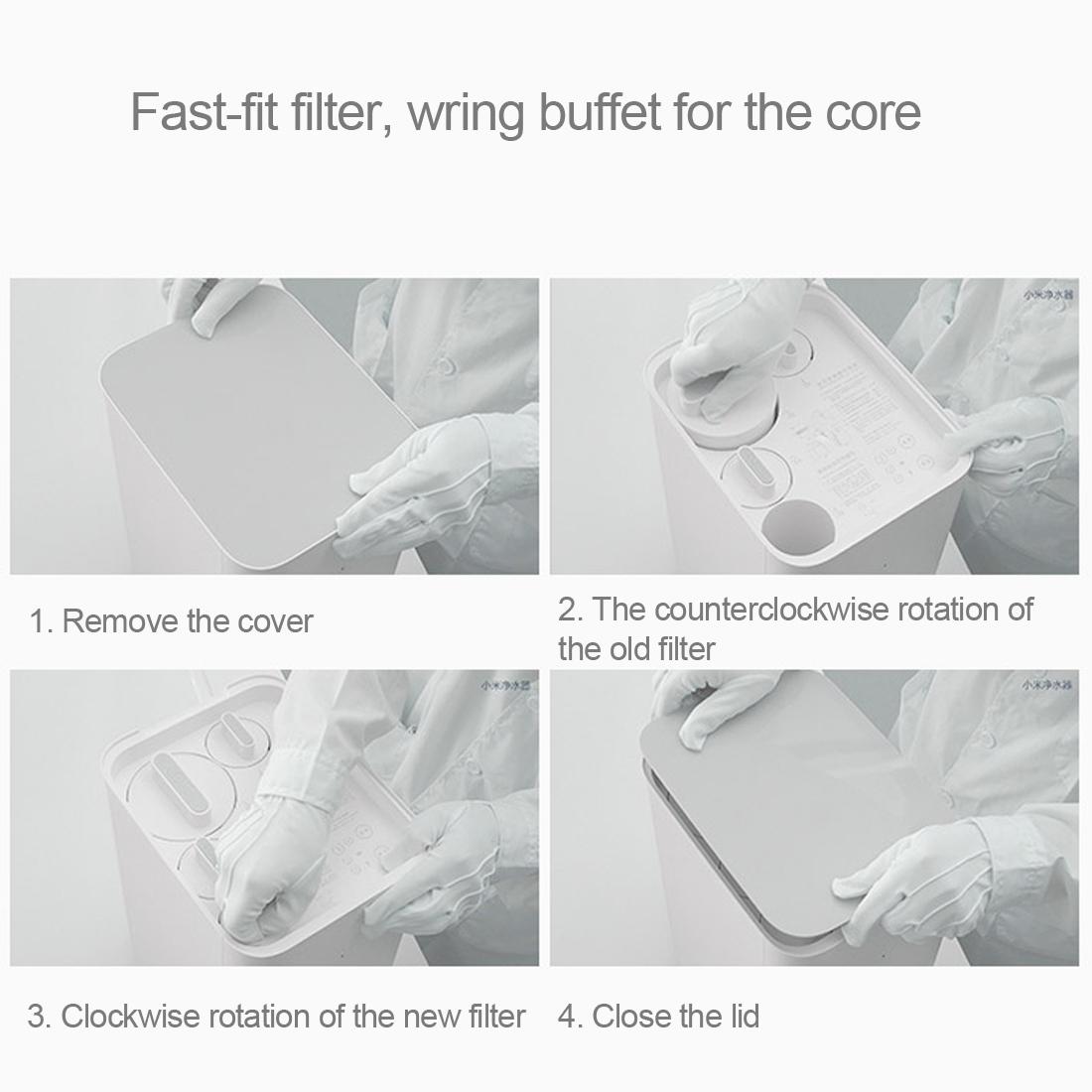 Original Xiaomi Mi Water Purifier Xiaomi Water Purifier Water Filters Health Water Support WIFI Android IOS