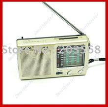 Free shipping! Pocket Radio Compact Kaide KK-9 TV FM AM SW1-7 Receiver