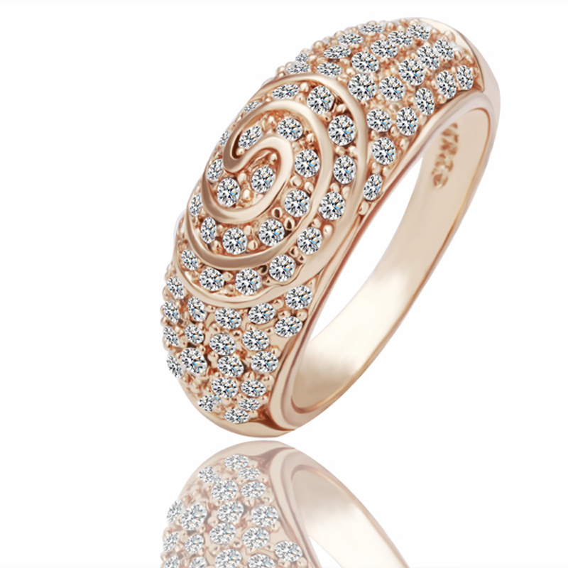 Aliexpress Buy Wholesale Vintage Engagement Ring 18K Rose Gold Plating