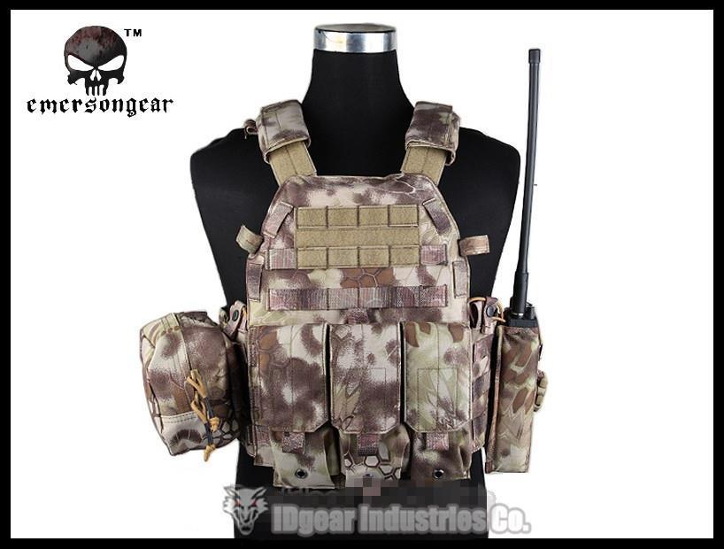 EMERSONGEAR LBT6094A Vest With Pouches Airsoft Painball Military Army 6094 EM7440L Hignlander<br><br>Aliexpress