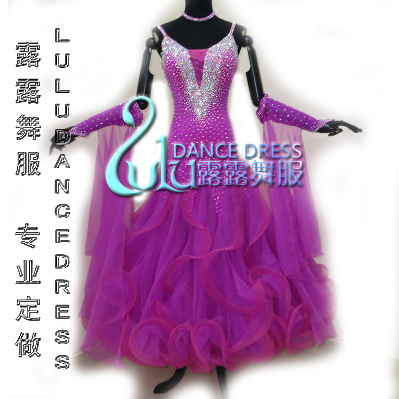 High Quality Waltz Tango dance Dress competitive Children Ballroom dance dress, ballroom dance dress competition dancing wearОдежда и ак�е��уары<br><br><br>Aliexpress