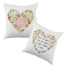 Love o cushion cover