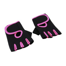 Men Women Sports Gym Glove for Fitness Training Exercise Body Building Workout Weight Lifting Gloves Half