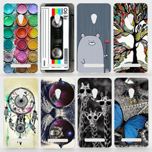 Case For ASUS Zenfone 2 ZE551ML Zonfone 2 Laser ZE500KL Zonefone 5 A501CG Colorful Printing Drawing Plastic Hard Phone Cases