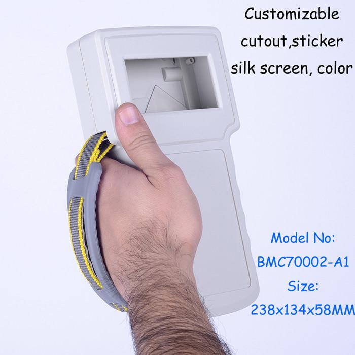 (10pcs/lot) plastic housing box handheld plastic enclosure abs plastic electronics enclosure for project box 238*134*50mm<br><br>Aliexpress