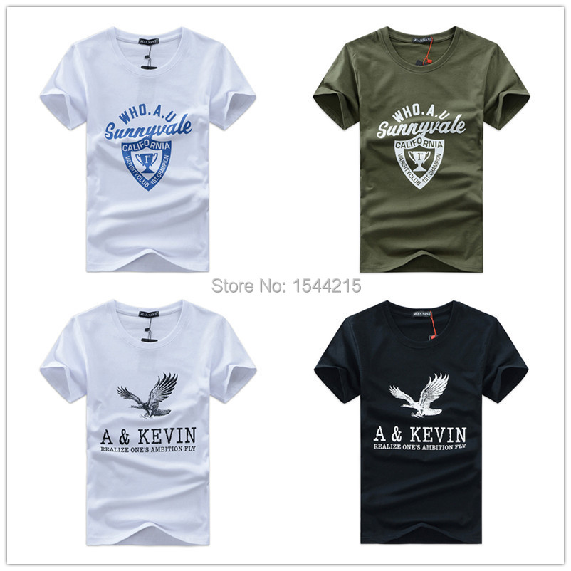 15style 2015 Summer New Brand swag cotton Short Sleeve Printed fitness hip hop t shirt men dress t-shirt mens shirts tshirt - Beijing ZhiHong electronic commerce co., LTD store