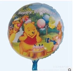 10pcs/lot The new! Wholesale high quality aluminum film balloon 18 inch cartoon party decoration(China (Mainland))