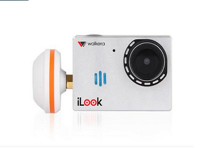 Walkera FPV Camera iLook Camera HD Resolution Support Micro SD Card G-2D Gimbal Compatible 11025<br><br>Aliexpress