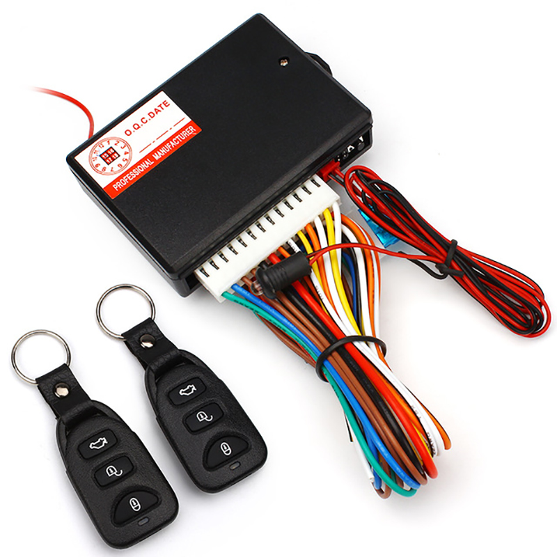 Car Styling Universal Car Keyless Entry System Auto Remote Central Kit Door Lock Locking Vehicle Remote Controllers Accessories(China (Mainland))