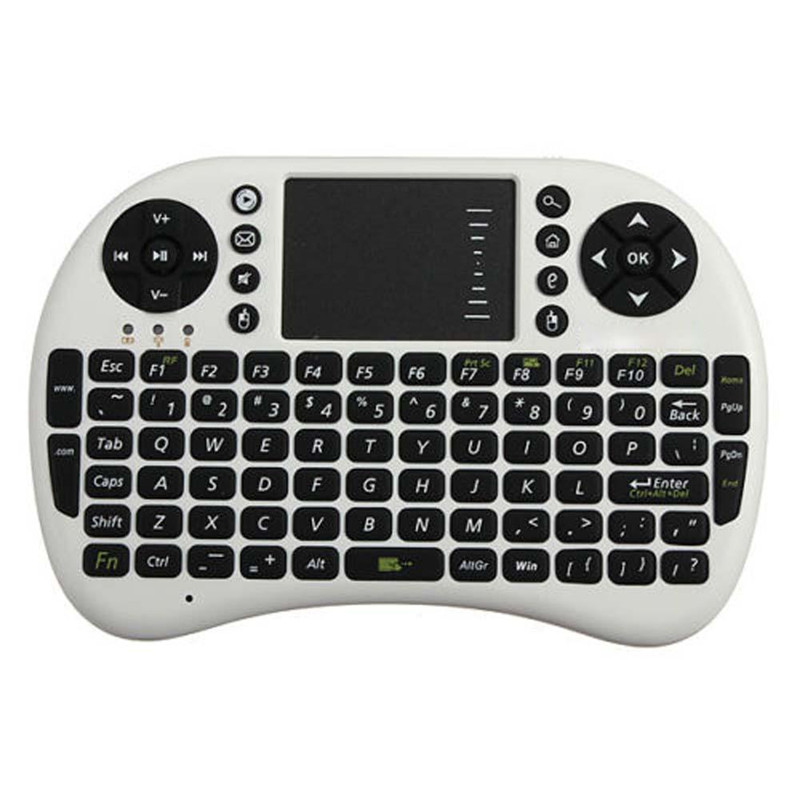 New 2016 Mini Wireless Keyboard 2.4ghz English Air Mouse Keyboard Touchpad Remote Control For Android TV Box Notebook Tablet PC(China (Mainland))