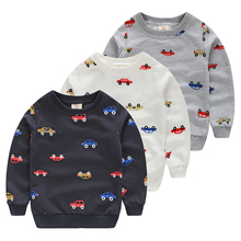 Baby pullover sweatshirt 2016 spring male children's child clothing child o-neck top outerwear male wt-4558