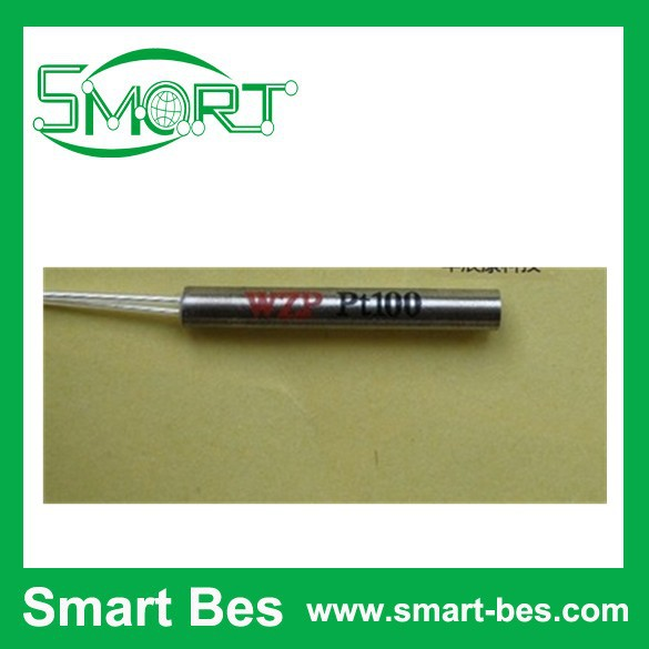 ~1 grade PT100 temperature sensor shell 3 * 15 mm 2 wire 1 m long - Shenzhen S-Mart Electronics Co., Ltd~ 24hour fast shipping~ store