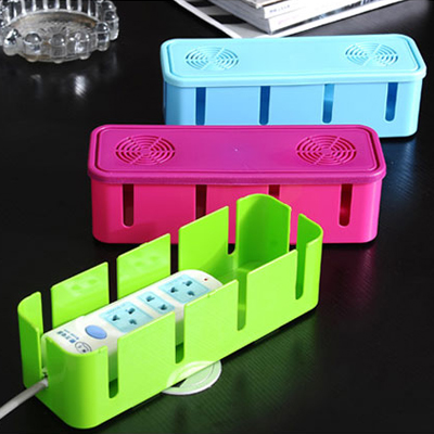 2013 Cablebox Power wire collection box cable box power cord socket storage box 28*10.5*8CM free shipping(China (Mainland))